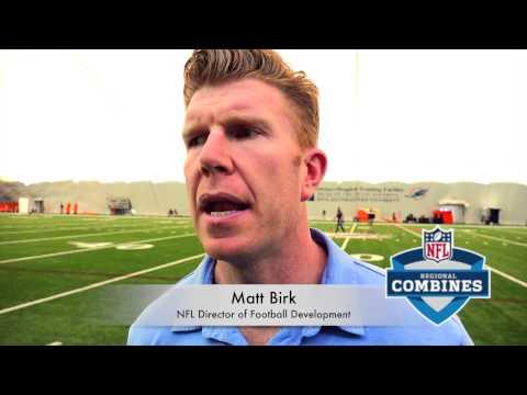The Combine Report: Matt Birk Interview @The 2015 NFL Regional Combine Miami #NFLCombine