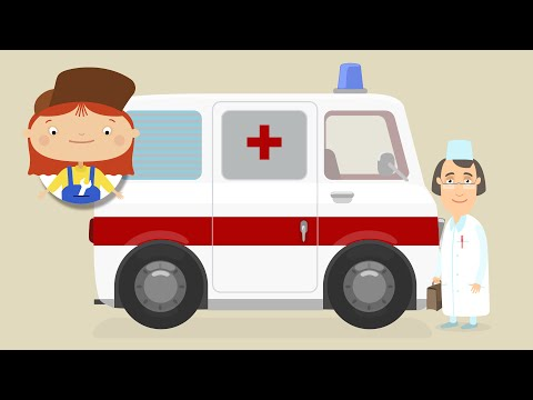 Доктор Машинкова и Скорая помощь. Мультики для детей про машинки