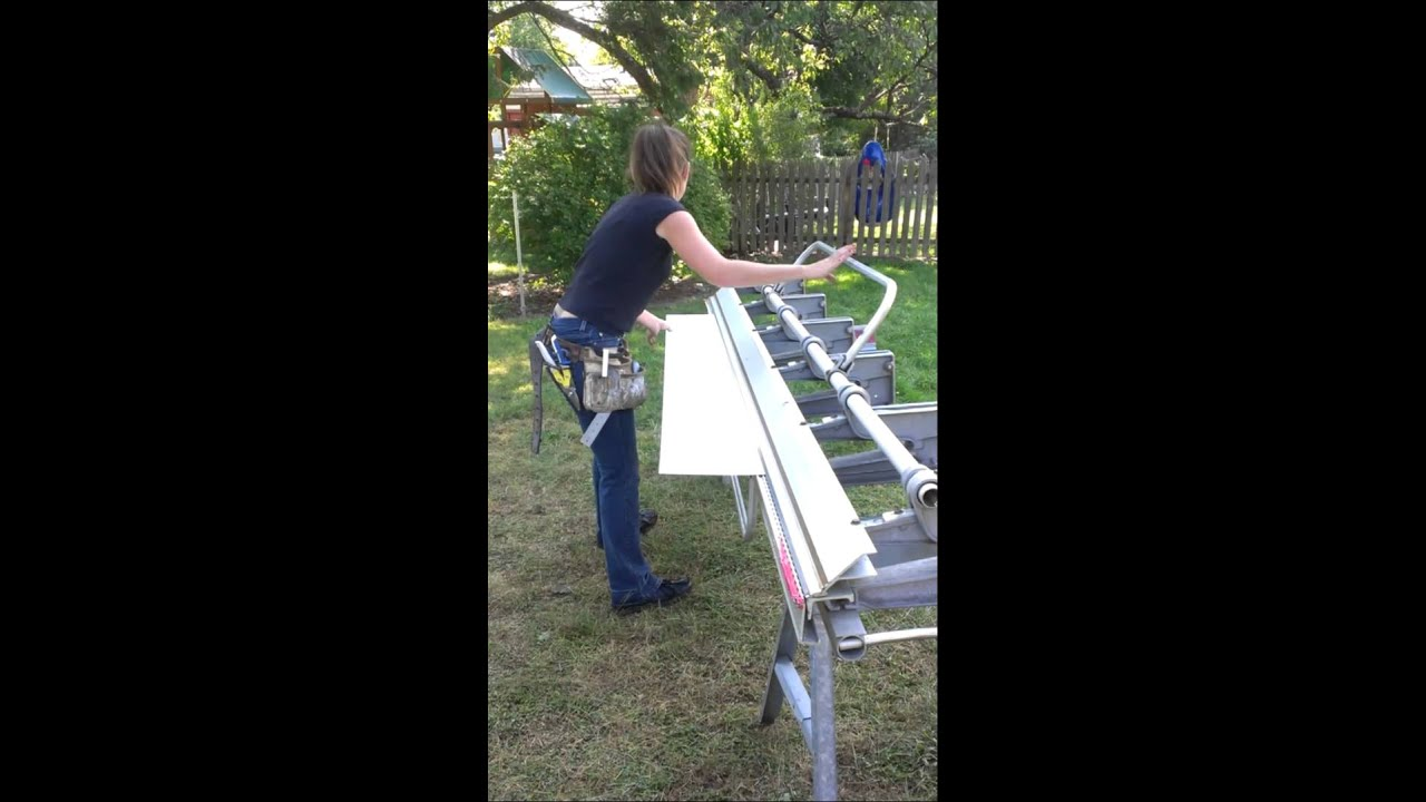 Stacey Bending Trim For Garage Door Youtube