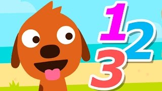 Sago Mini Puppy Preschool - Best Apps For Kids - Learning 123 Numbers, Shapes, Matching & Music