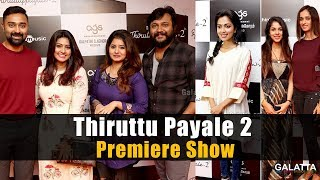 Thiruttu Payale 2 Premiere Show | Celebs @ AGS Cinemas
