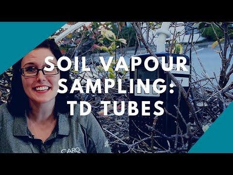 Soil Vapor Sampling: TD Tubes