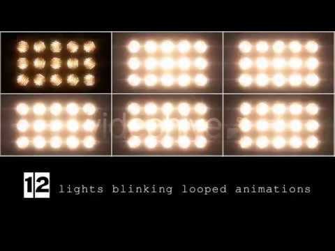 Flashing Lights Jarag Motion Graphic Background