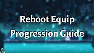 [MapleStory] Complete Reboot Equipment Guide 2019