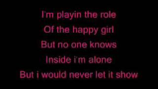 Over it by Annelise Van Der Pol With Lyrics
