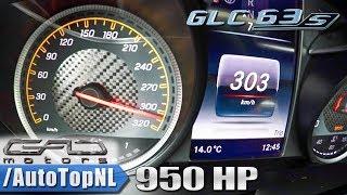 950HP Mercedes GLC 63 AMG   GAD Motors 0-303km/h ACCELERATION & LAUNCH CONTROL by AutoTopNL