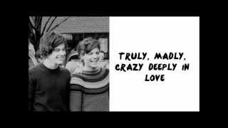 One Direction - Truly, Madly, Deeply (Lyrics + Pictures) HD