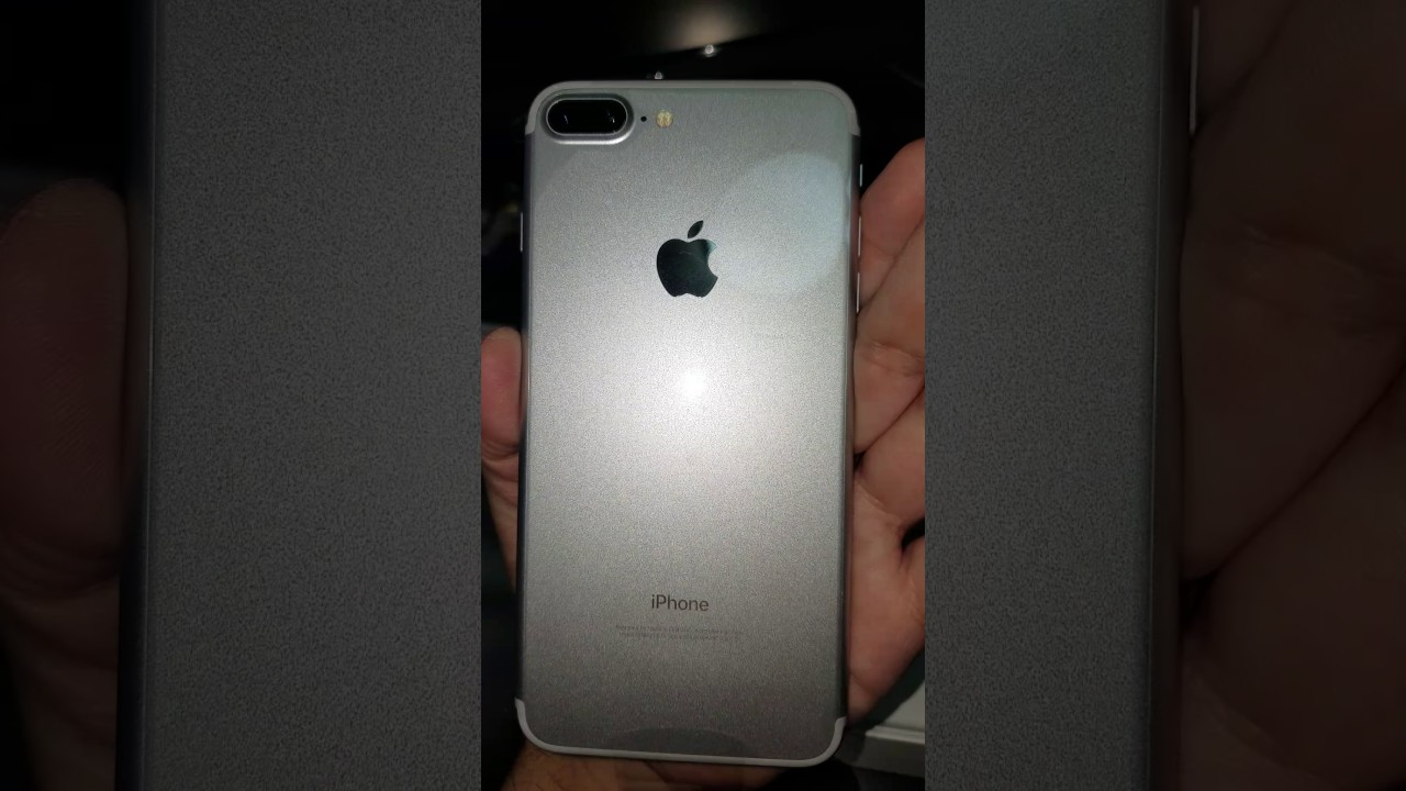 Iphone  Plus Silver Unboxing