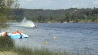 Australian Power Boat Racing - Dargle 2009 - 6ltr Unlimited with Hydro