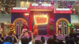 Barney & Friends and finale in Singapore! (The Little Big Club Live Show @ OneKM Mall Pt. 4)