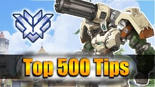 How GRANDMASTER Players DESTROY with Bastion - Overwatch Top 500 PRO Tricks | KolorBlind Bastion Vod