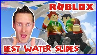 Best Water Slides / ROBLOXian Waterpark