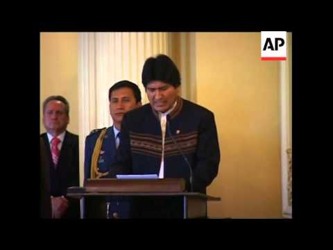 Bolivia breaks diplomatic ties with Israel citing Gaza 'genocide'