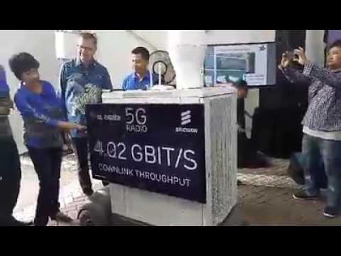 Uji coba jaringan 5G XL Axiata
