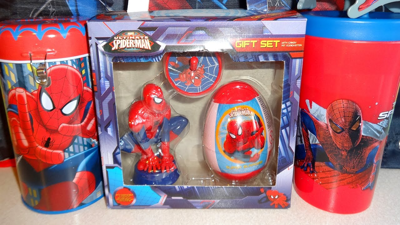 Marvel Spider Man Surprise Gift Box Toys Amp Eggs For Boys