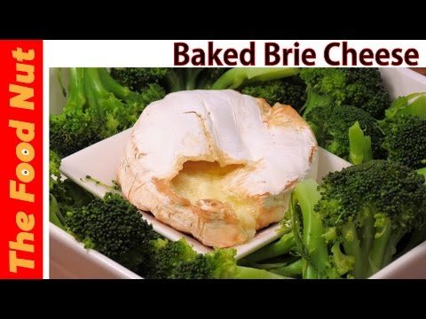 Baked Brie Cheese Recipe - How To Bake Brie Cheese And Make Appetizer With Broccoli | The Food Nut