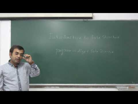 DATA STRUCTURE | LECTURE - 1 | PROF. DR. HIMADRI NATH SAHA | Gymkhana TV | IEM