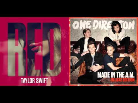 TaylorS. Vs. One Direction - I Knew You Were Drag Me Down (Mashup)