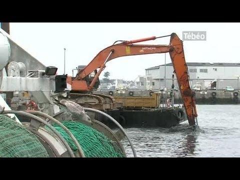 Désenvasement Du Port De Loctudy (Brest)