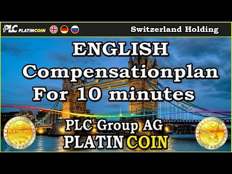 Compensationplan For 10 minutes - English - PlatinCoin PLC Group AG