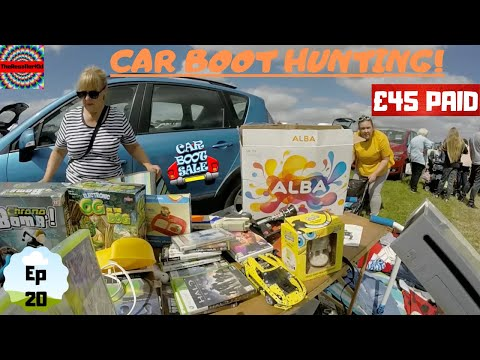 Car Boot Sale Hunting! | Mega Electronics Haul! | GoPro Footage | What Will I Find... | Episode 20
