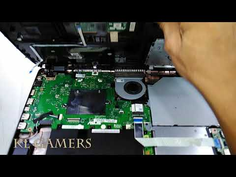 ASUS Notebook PC laptop Model A542U-FDM150T Disassemble and clean Dust 2019