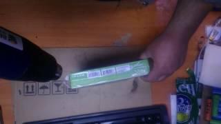 Обертка коробки TP-Link в термопленку