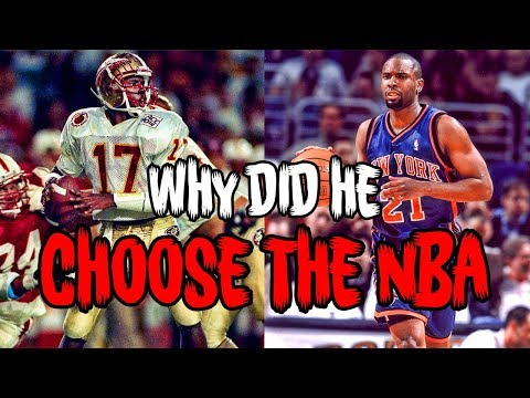 The HEISMAN WINNER Who CHOSE THE NBA