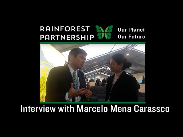 Our Planet. Our Future. - Interview with Marcelo Mena Carassco