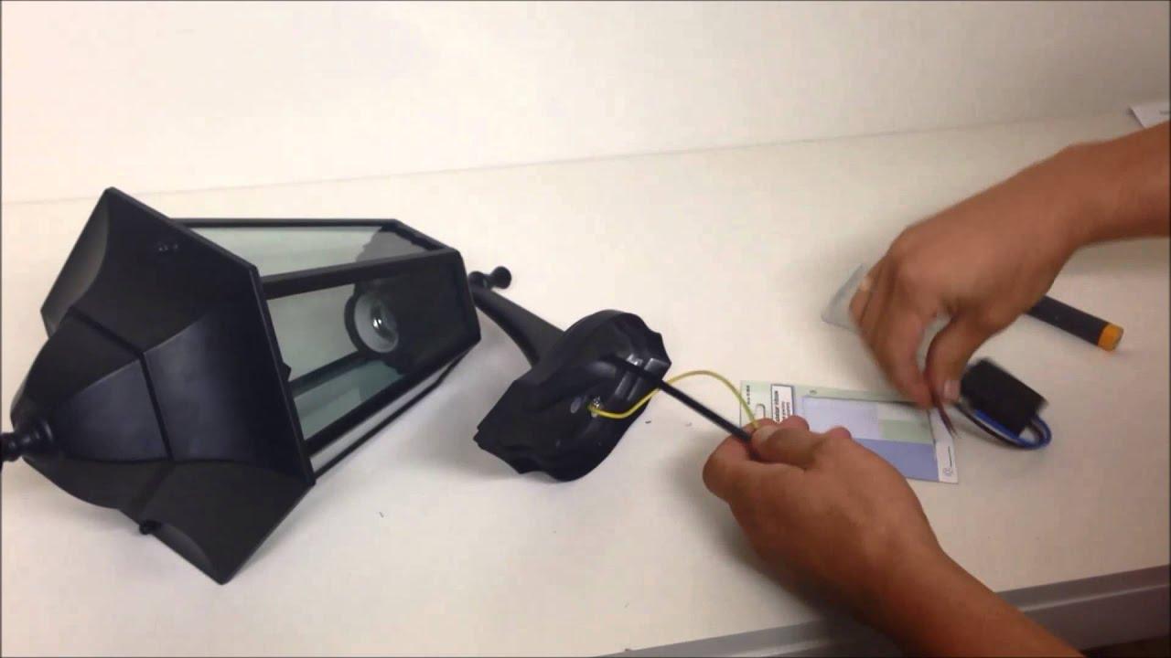 Hoe bouwt u een schemerschakelaar in een buitenlamp youtube