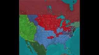 The Second American Civil War (Kaiserreich)
