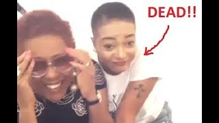 Actress Shan George39s sister dies after she attacked pastors on tithe