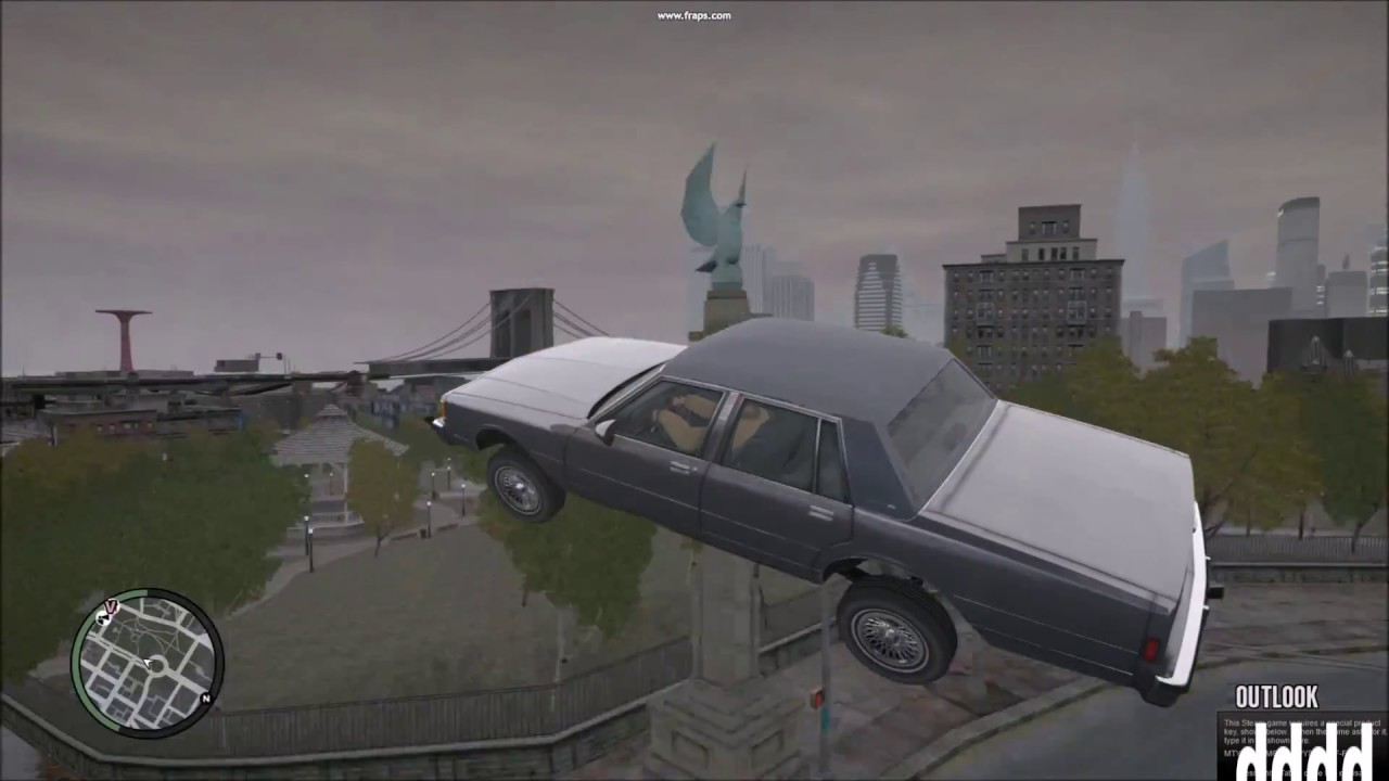 GTA IV- 1986 Chevrolet Caprice Brougham Crash Test HD - YouTube