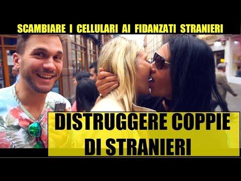 SCAMBIARE I CELLULARI Ai Fidanzati STRANIERI - Giacomo Hawkman