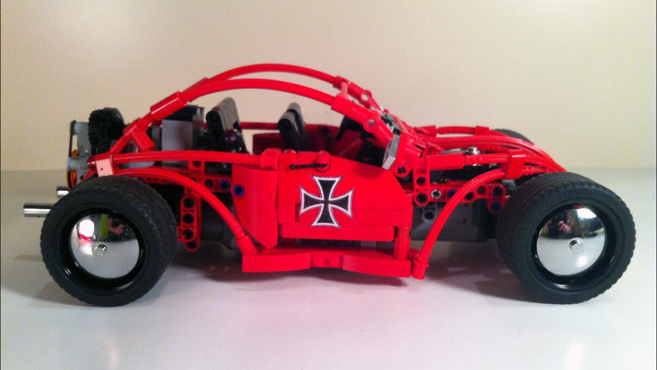 """VW """"VolksRod"""": A LEGO® creation by Bing-Bong Brothers : MOCpages.com"""