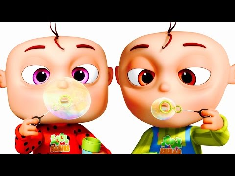 Five Little Babies Blowing Bubbles | Five Little Babies Collection | Zool Babies Fun Songs