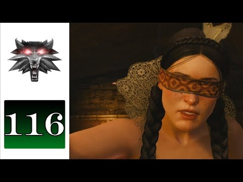 Let's Play The Witcher 3 (Blind) - 116 - Blindingly Obvious