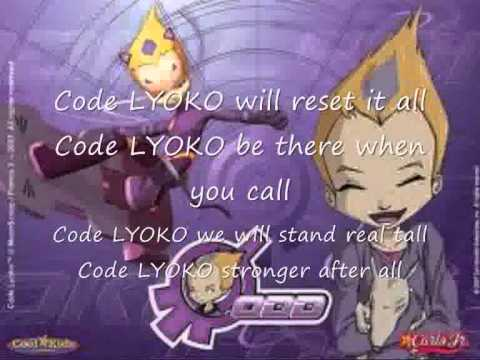 Code Lyoko:A World Without Danger (With Lyrics)