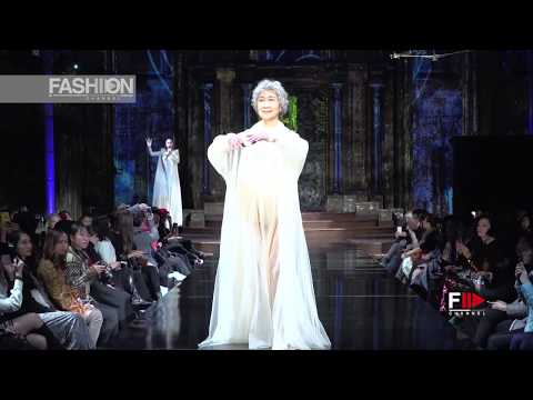 SHEGUANG HU New York Fashion Week Art Hearts Fall Winter 2017 2018   Fashion Channel