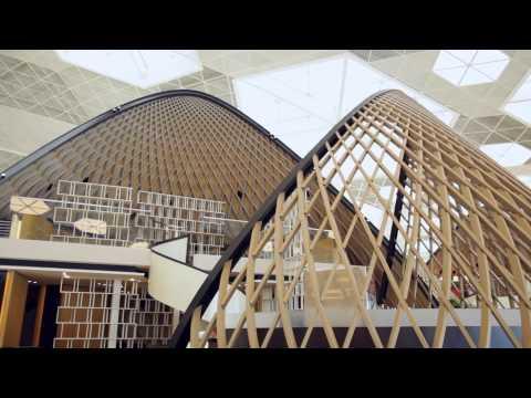 Autoban Design For Heydar Aliyev International Airport