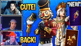Streamers Réagir à 'OG' Crackshot BACK! et 'NEW' Crackabella Skin! Fortnite (Magasin d'objets 20)