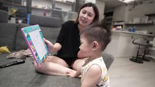 超厲害,默默跟BUBU玩你畫我猜...2歲小孩想像力比爸爸強?!|默森夫妻&BuBu寶寶成長日記
