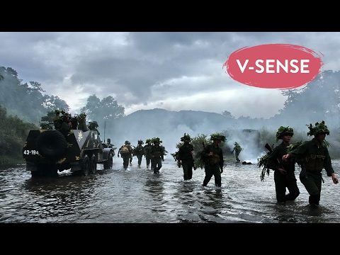 Vietnam vs U.S War Movie | The Legend Makers | English Subti