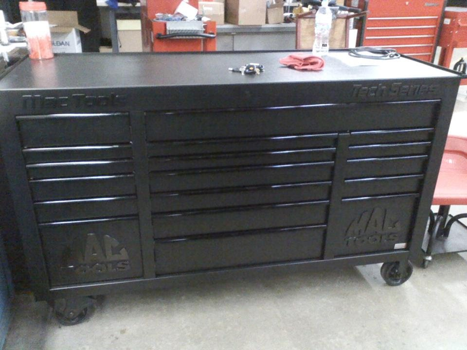 Tool box tour part 2 Mac tools Tech Series 1080 power