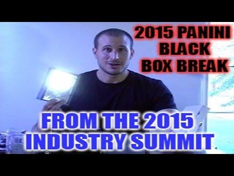2015 Las Vegas Industry Summit 2015 Panini Black Box, Leaf & Upper Deck Box Break