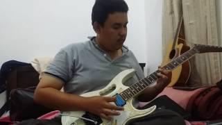 Tajul - sedalam dalam rindu Guitar Solo By Amir Supian Dexterity