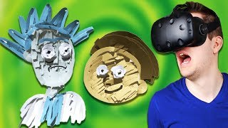 Terrible Cartoon Drawing in Virtual Reality! - Tilt Brush Gameplay - HTC Vive VR