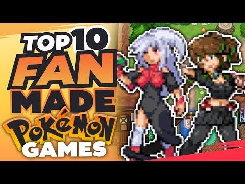 Top 10 BEST Pokemon Fan Games 2017