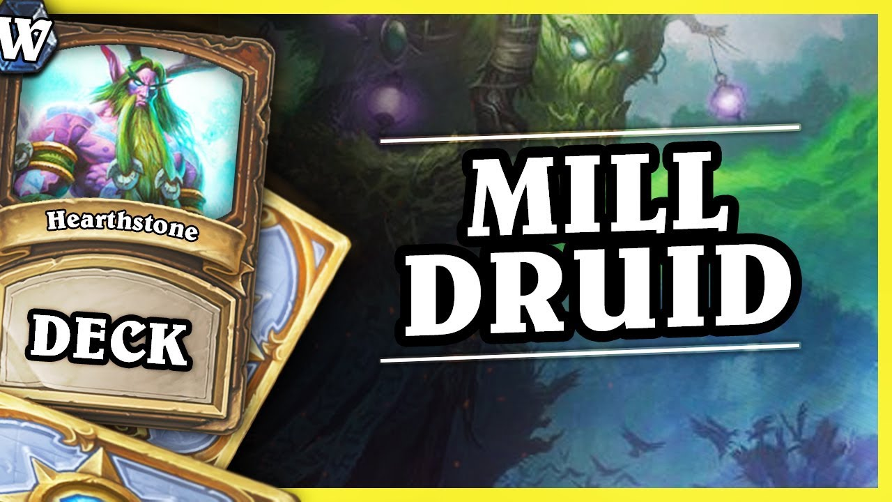 MILL DRUID – Hearthstone Deck Wild (KotFT)