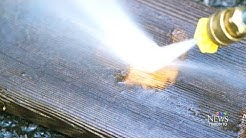 Dangers of using pressure washers on your property